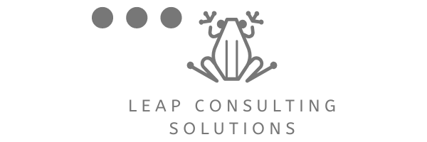logo LeapConsulting gray