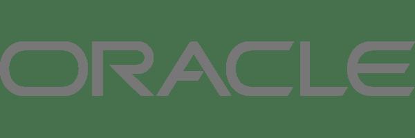 logo Oracle gray